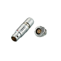 REUNION B Series - Metal Circular Couplers For Automotive Push-Pull Self-Latching Connector
