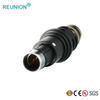 Male straight plug waterproof sensor connector power/signal type