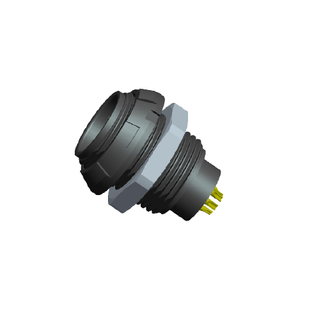 SKG.1P304.APLL - 1P Plastic Plug And Socket for Medical Device Connector