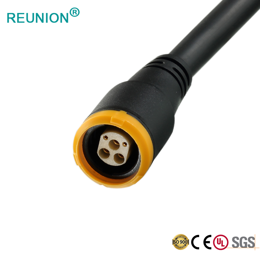 REUNION P Series 5PIns Medical Power Connectors