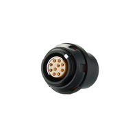 SLG.0F310.CPL - Push Pull Electronic low voltage Connector Socket with Half Round Insulator