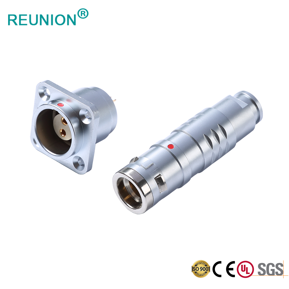 Factory Supply Circular Type Push-Pull Connector for Automation, Robotics