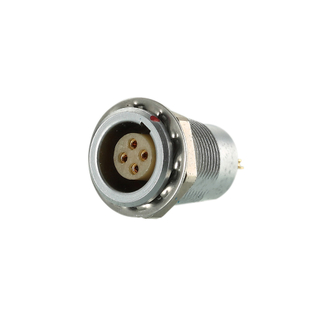 SGG.1B314.CPL - Circular self-latching metal female socket power connector 14pins
