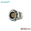 Self-Latching system push-pull type medical connector for patient monitoring,cosmetic and dental tools circular plug