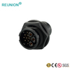 IP67 Plastic Waterproof Connector Male Plug Cable Mounting Female Socket Panel Mounting