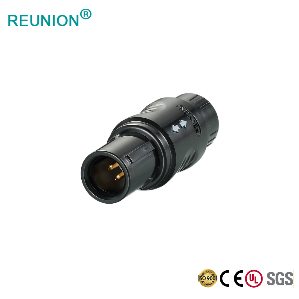 REUNION Medical Components P Series 8pins Plastic Connector PAG Plug for Monitor Device