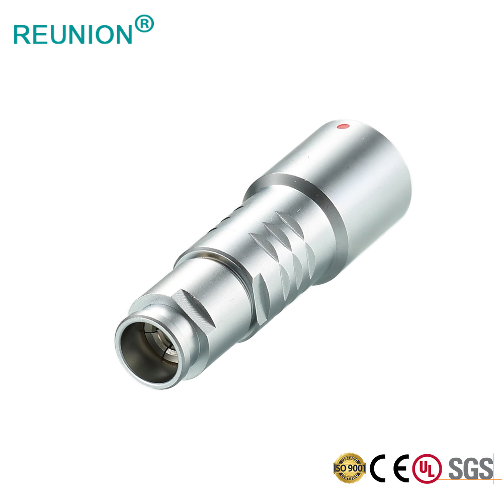 Metal shell couplers safe and stability male female plug and free socket connector
