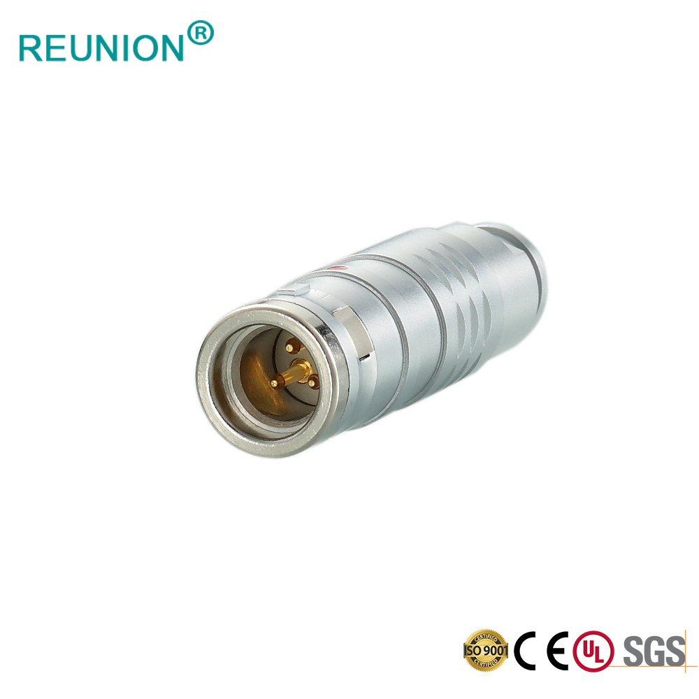 K Series Push-Pull Self-Latching System Full EMC Shielding Metal Circular Connector