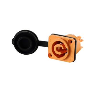 3 Pin Electronic Female Connector Powercon Compatible with Neutrik Power Connector