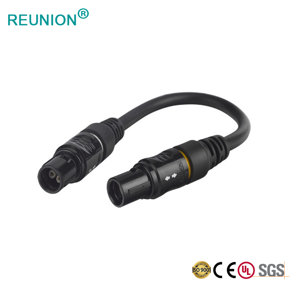 REUNION supply high quality 60 degree key P series push-pull plastic electrical connector