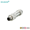 M8/M12 Assembled Connectors 4pins D Type Agricultural Equipment Connector
