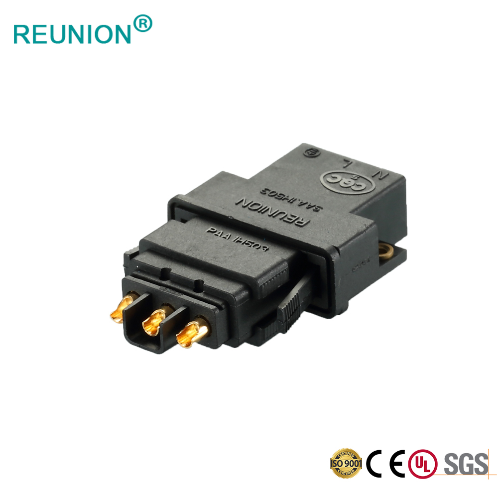 REUNION Flat Series - 3pins power connector assembly