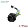 REUNION X Series - PA66 Shell Plastic 3+9 Hybrid Multipole Power & Data Connectors