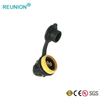 Self-latching Quick Connect Plastic Adapter Power Cable Connector IP65 Waterproof Connectors