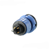 High quality cable joint waterproof electrical coupler hybrid pins connectors