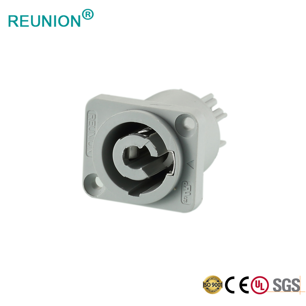 REUNION 3N non-waterproof IP50 power connector