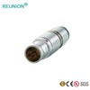 0B 6pins Circular Medical Connector Metal Receptacle