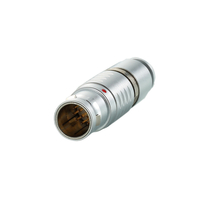 Multi-pole Metal Circular Connectors 5 Pin FGG Plug for Medical Monitor