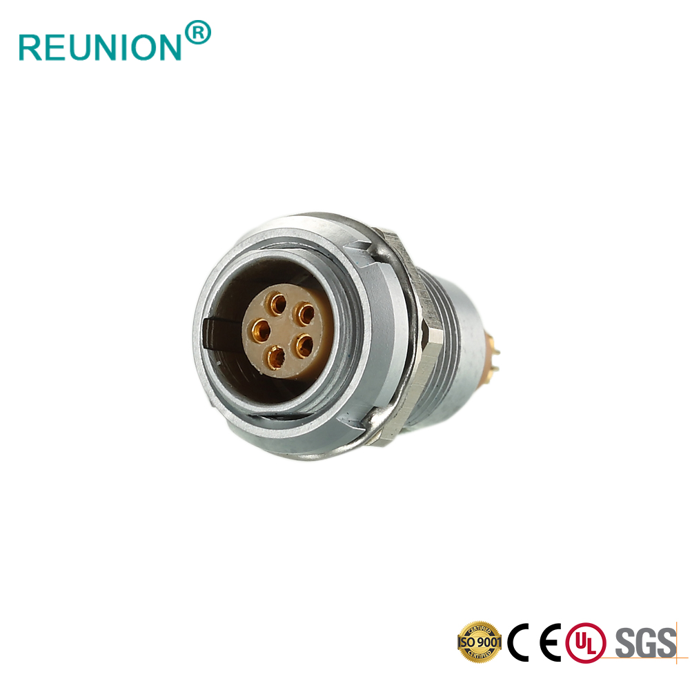 Hot Sell 7 Pole B Series Male Plug Female Socket Solder Cable Connector