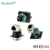 IP67 Waterproof RJ45 Signal Connector,8P8C RJ45 Female Panel Mount Connector