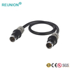 Custom Cable Assembly S102 Compatible Male Plug Connector To DC Data Adapter