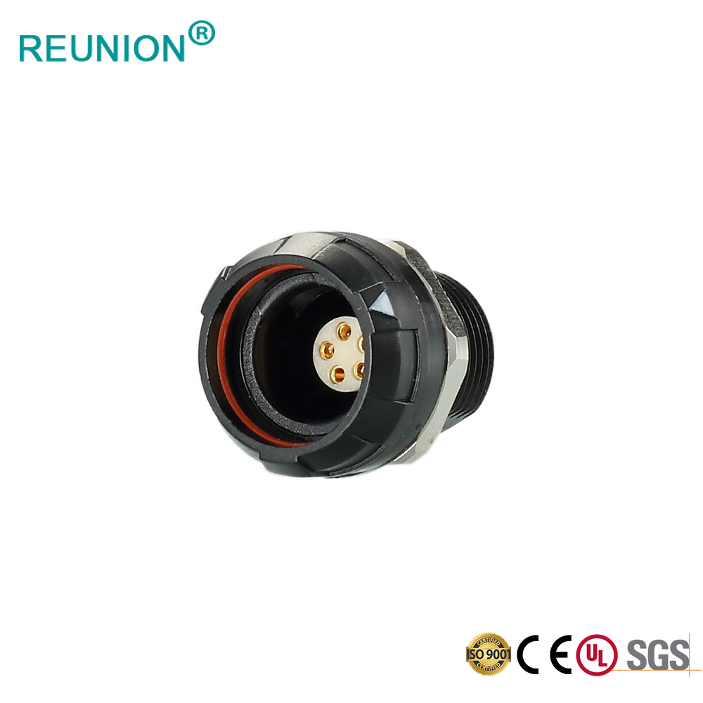 REUNION Factory Wholesale Aviation/Medical Connector 7 Pin Adapter for Madsen Accuscreens