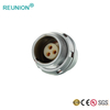 Metal female receptacle vacuum seal the waterproof connectors solution