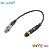 P Series 7pin Plastic Medical Redel Connector Custom Cable Assembly