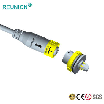 REUNION Connectors - 1X series 2+2 connectors for LED Optoelectronic Industry Projects