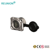 REUNION 2019 New Waterproof Network Ethercon RJ45 Ethernet Adapter Metal Circular Connector