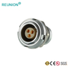 SCG.0B304.CPN - Push-Pull Medical Circular Connector with Right Angle Contacts for PCB Type