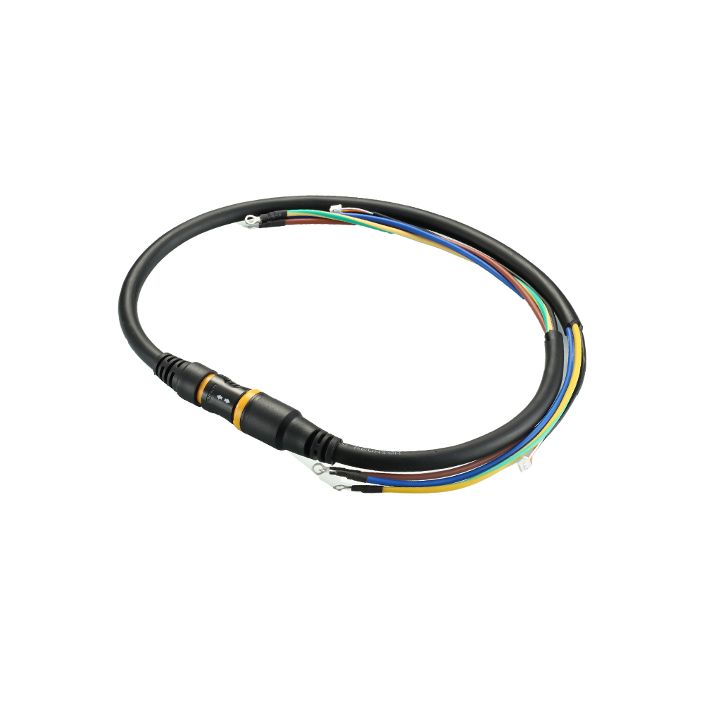 Custom plastic p series medical cable assembly made in China